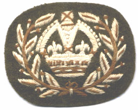 WO2 Rank Badge